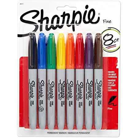 Sharpie Fine Point Asst Colors