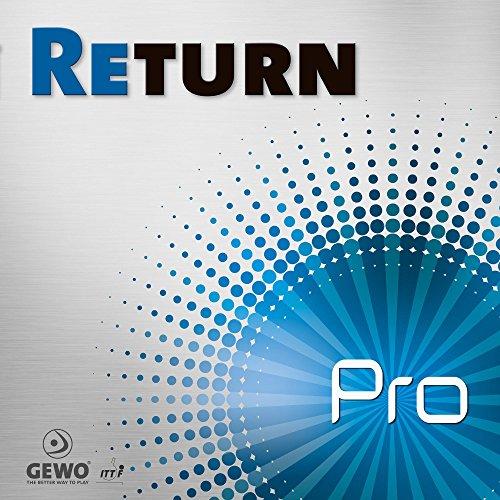 GEWO Belag Return Pro Farbe 1,6 mm, schwarz, Größe 1,6 mm, schwarz