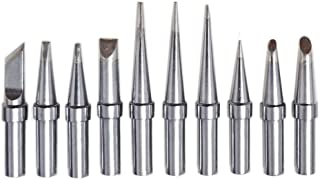 Quality ShineNow Replacement Tips for Weller ET Tip WES51 WESD51 WE1010NA WCC100 PES51 (10PCS Tip Set)