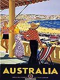 WallBuddy Australisches Poster, Australisches Mittleres