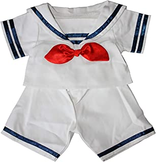 Sailor Boy w/Hat Outfit Teddy Bear Clothes Fits Most 14