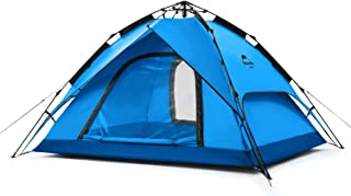 Naturehike Instant 3-4 Person Pop Up Tents Beach -Dual-Purpose Pergola-Waterproof Automatic Quick Tents for Camping Outdoo...
