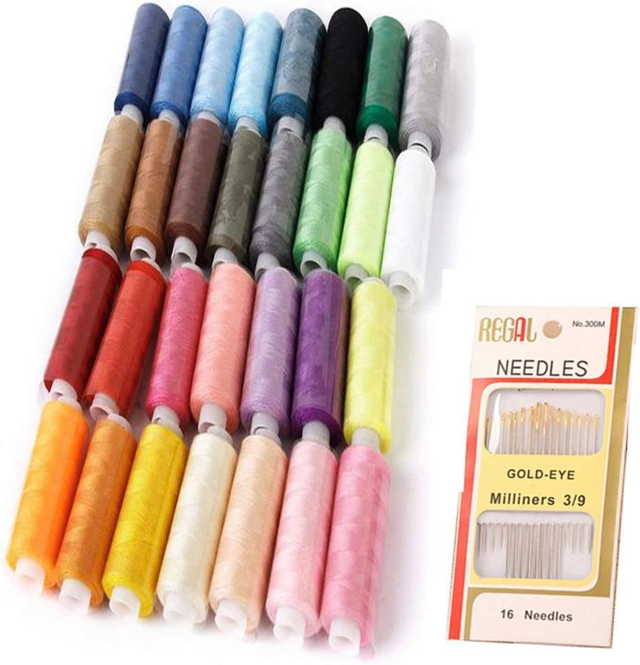 NALEDI Sewing Threads Kits 30 New mail order Machine Thread Sale Special Price Polyester Color 250