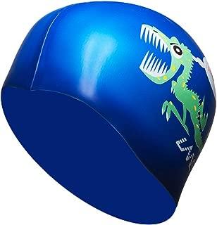 dinosaur swim cap