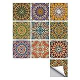 MXZJ Style Arabe Carreaux Autocollants Bricolage Wall Stickers Art Mur Stickers...