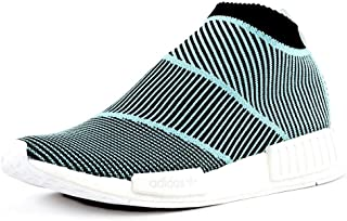 adidas NMD_CS1 Parley PK, Scarpe, Sneaker Unisex (Black/Sky, Fraction_40_And_2_Thirds)