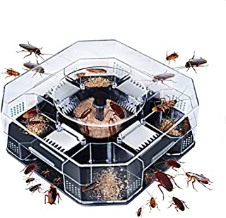 IDEA-TECH Cockroach House Catcher Killer, Home Kitchen Capture Pest Tool Cockroach Box Home Crawling Insect Catcher Cockro...