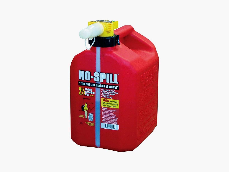 No-Spill Gas Can - Under blast sales 2.5 Spasm price Gallon Red
