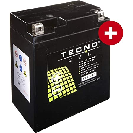 Tecno Ytx9 Bs Gel Batterie Vt 600 C Shadow 1988 2000 Auto