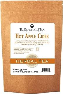 The Republic of Tea Hot Apple Cider Seasonal Herbal Tea, 36 Tea Bag Refill