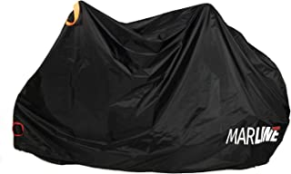 MarLine Bike Cover Outdoor Waterproof Bicycle Cover Dust Snow Proof with Lock Hole and Reflective Straps