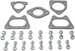 DNA Motoring GKTSET-CB05 Aluminum Exhaust Manifold Header Gasket Set Replacement