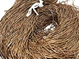 The Design Cart 1MM Smooth Finish Bronze Dapka/Dabka/French Wire for Aari, Zardosi Embroidery and Jewellery Work (400 Grams)