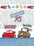 Cars protectora bebé niño saco manta bebé 75x 100cm flash McQueen y Mater