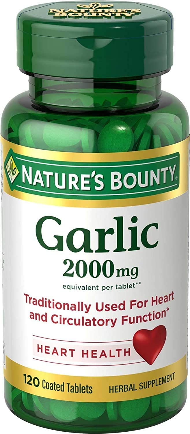 Dharma Nature's Bounty Odour-Free Garlic mg 2000 Minneapolis Mall Challenge the lowest price of Japan -120 Tablets