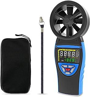 BTMETER BT-8805 Handheld Digital Anemometer Wind Speed Meter Gauge for Wind Temperature Air Flow Velocity Tester Wind Chil...