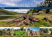 Zauberhaftes Germany (Tischkalender 2022 DIN A5 quer): Landschaft und Geschichte Germany (Monatskalender, 14 Seiten )