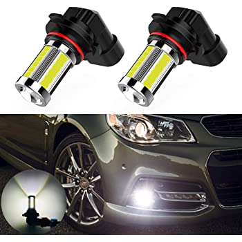 ATO-DJCX 2pcs 9045 9040 9140 H10 9145 LED Bulb 33 SMD 6000K Pure White LED Fog Light Bulbs for DRL or Fog Lights /…