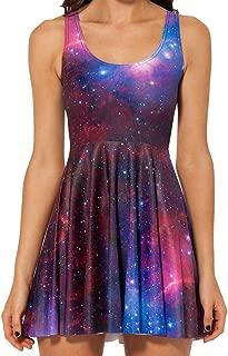 skater dress galaxy