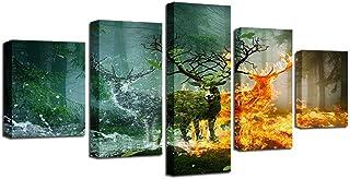 Impressions sur Toile 5 Pieces/Set Dessin DIY Wall art Peinture Tableaux HD Posters Et Arts Motif, pour Le Salon Children'...