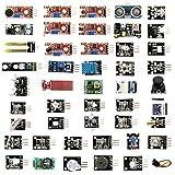 45 En 1 Módulos De Sensor Junta Kit, Compatible Con Arduino R3 Y Frambuesa Pi, Los Principiantes Sensores Módulos Starter Kit