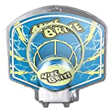 Baden Nite Brite Glow in The Dark Mini Ball and Hoop Set