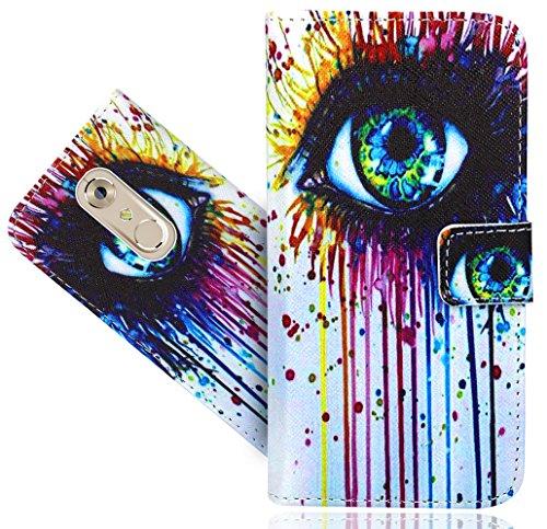 ZTE Axon 7 Mini Handy Tasche, FoneExpert® Wallet Hülle Flip Cover Hüllen Etui Hülle Ledertasche Lederhülle Schutzhülle Für ZTE Axon 7 Mini