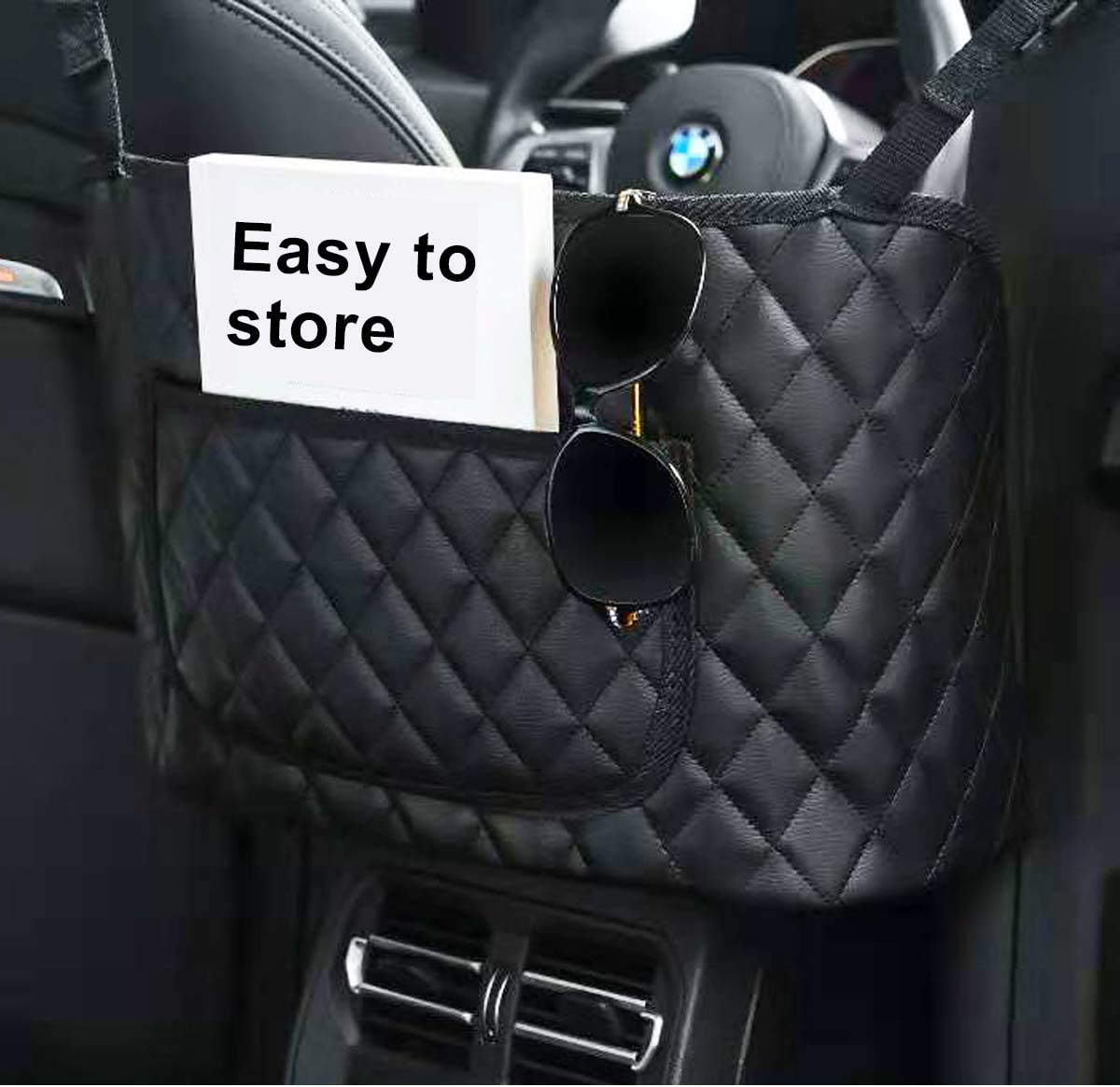 Car Seat Storage Organizer Limited time cheap sale and Inexpensive Holding Handbag Leather Se Luxury