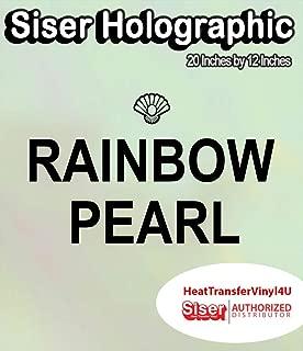Siser Holographic Heat Transfer Vinyl 20