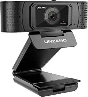 HD Webcam 1080p With Privacy Shutter, Pro Streaming Web Camera With Dual Microphone External USB Computer Camera for PC Laptop Desktop Mac Video Calling, Conferencing Skype Xbox One YouTube OBS