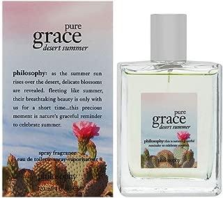 Philosophy Pure Grace Desert Summer 4 oz Eau De Toilette Spray Fragrance