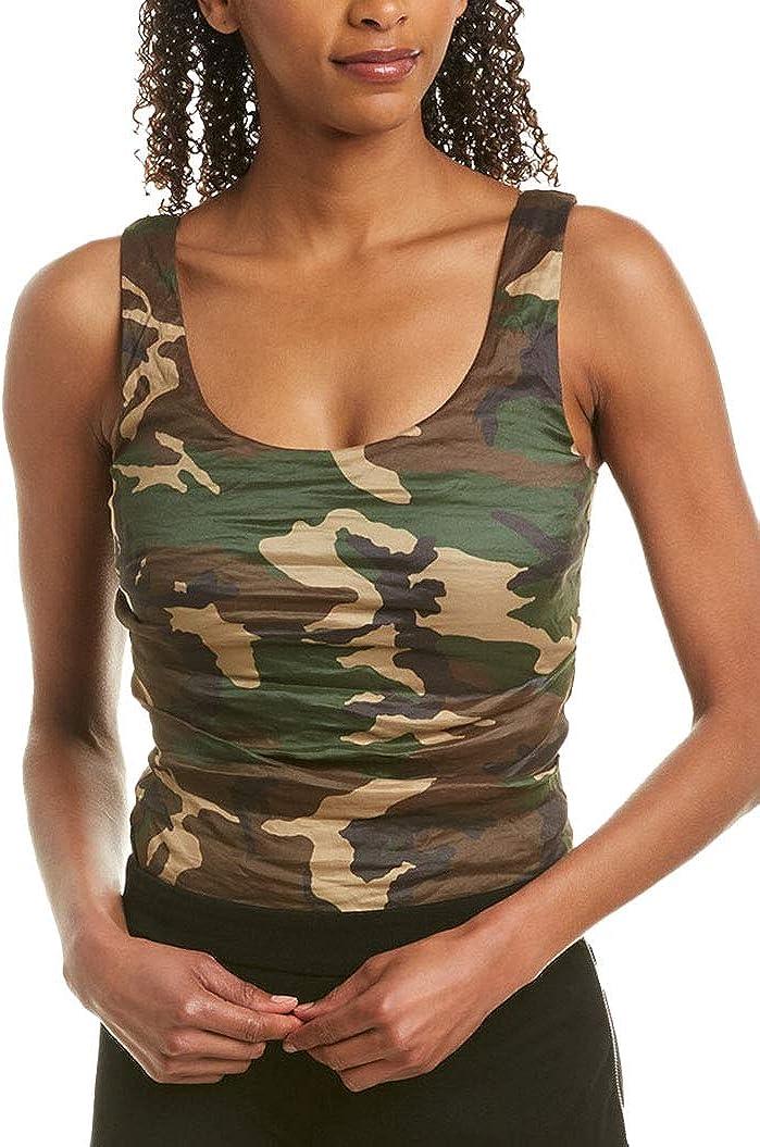 Nicole Miller Artelier CAMOUFLAGE Technometal Bodysuit, US Small
