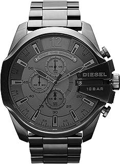 Diesel Men's Gray Dial Stainless Steel Band Watch [DZ4282]