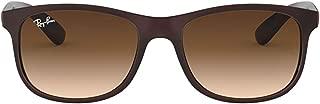 Luxury Fashion | Ray Ban Mens RB4202607313 Brown Sunglasses | Fall Winter 19