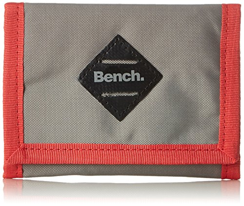 Bench Herren BAMO001028 Geldbörse, Brushed Nickel, One Size