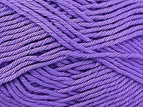Stylecraft Classique Cotton Knitting Yarn DK 3673 Lavender - per 50 Gram Ball