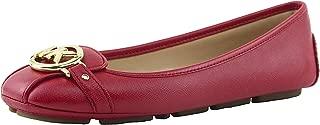 Women's Saffino Fulton Moc Flats, Style 40T2FUFR1L (8, Bright Red)