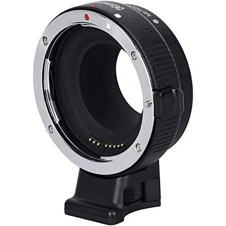 Commlite cm-EF-EOS M Auto-Focus Lens Mount Adapter for Canon EF/EF-S Lens to Canon EOS M (EF-M Mount) Mirrorless Camera Lens Converter Ring for Canon EOS M1 M2 M3 M5 M6 M10 M50 M100