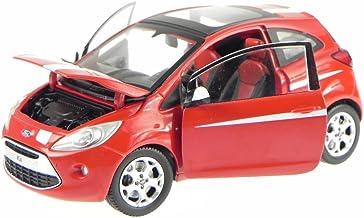Generation 2008-2016 1//43 Minichamps Modell Auto mi.. Ford KA 3 Türer Rot RU8 2