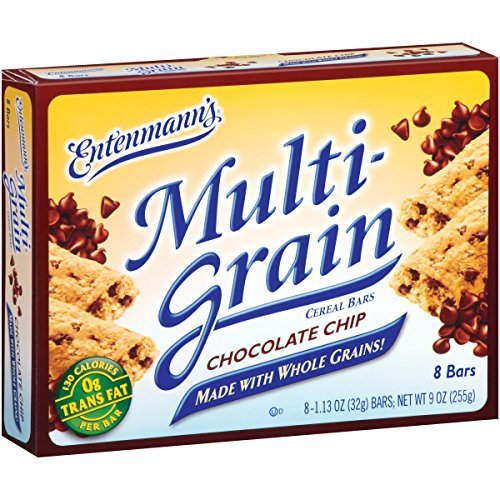 Bimbo, Multi Grain Chocolate Chip Cereal Bar, 9 oz by Entenmann's