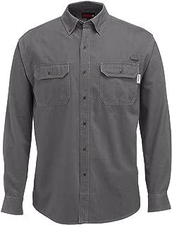 Men's Fletcher Soft and Rugged Twill Long Sleeve Shirt