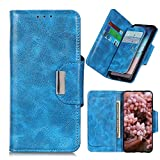 Hauw Case for WIKO View4 Lite,Flip Wallet with 6 Card Slots