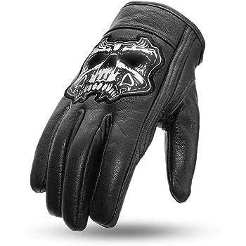 Skull Men Hand 1 Pack Black, Large Lethal Threat GL15004L Mens Gloves