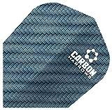 Harrows Carbon Laminat 100 Mikron Performance Dart Flights 10-Piece Pack Set -