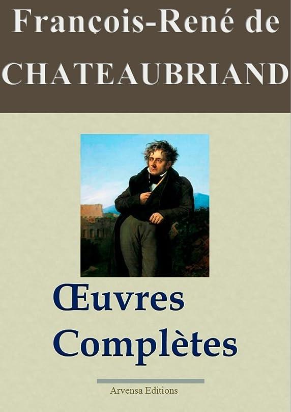 守る三角形件名Chateaubriand : Oeuvres complètes et annexes - 49 titres | Nouvelle édition enrichie (French Edition)