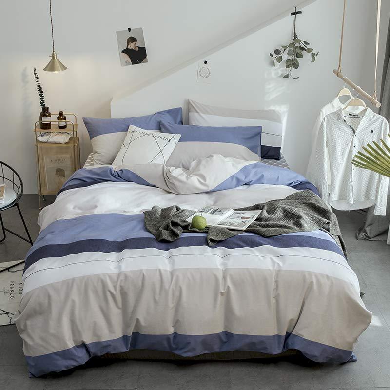 婉寇磨毛四件厚い綿100%の綿の生態学的な紙やすりで磨く冬の4つのYMシリーズBeiyeのシンプルな暖かいヨーロッパの寝具セット