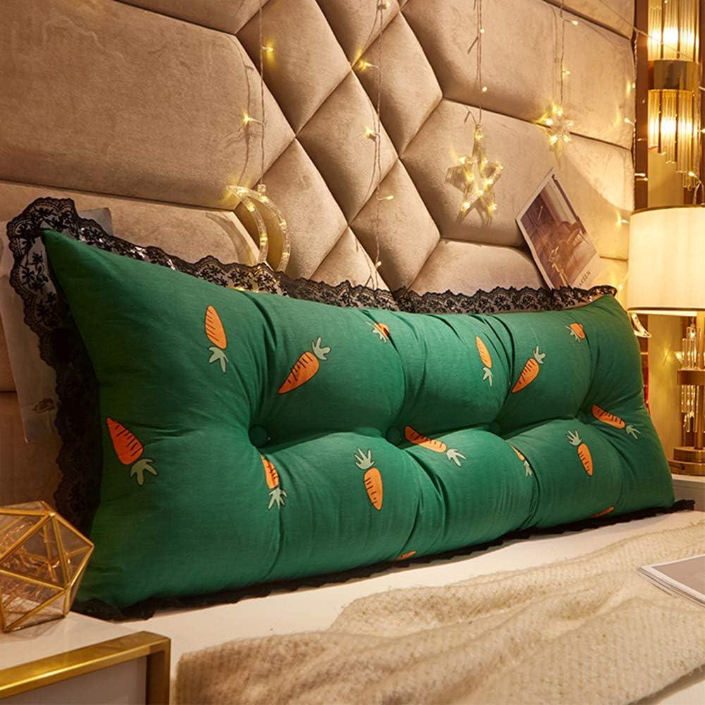 SALENEW very popular GC 100% Cotton Double Single Max 65% OFF Bedside Cushion Headboard