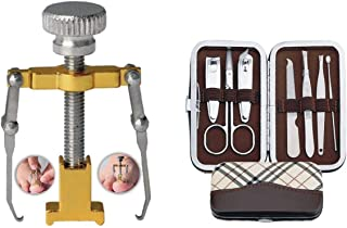 jeoga® Combo 8 pcs Ingrown Toe Nail Correction Tools corrector Toe Nail Corrector Recover Foot Nail Care Pedicure.
