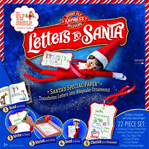 Elf on The Shelf Scout Elf Express Delivers: Letters to Santa