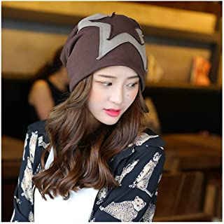 Hat Fashion Helmet Korean Version of The Warm Plush Hat Cold Head Hooded Hat Riding Bowler Hat Fashion Accessories (Color : Brown, Size : 55-60cm)